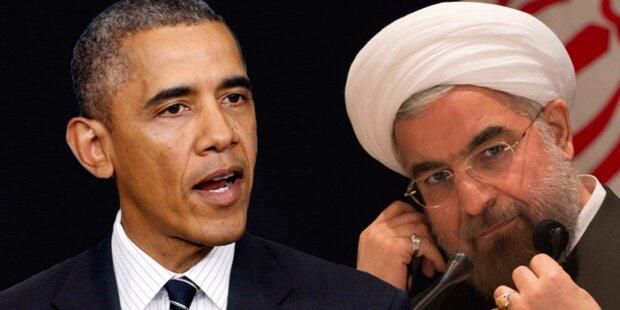 Obama telefonierte mit Rohani