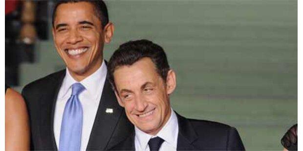 Sarkozy attackiert Obama