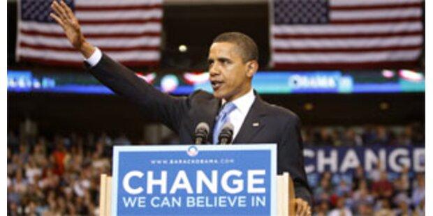 Obama wird Präsidentschaftskandidat der USA