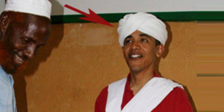 Obama-Foto in Somali-Tracht sorgt für Wirbel