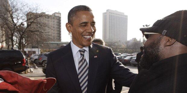 So verbrachte Obama den Wahltag