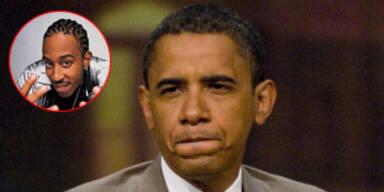 Obama schämt sich für Unterstützungssong