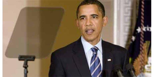 Obamas Teleprompter kracht zusammen