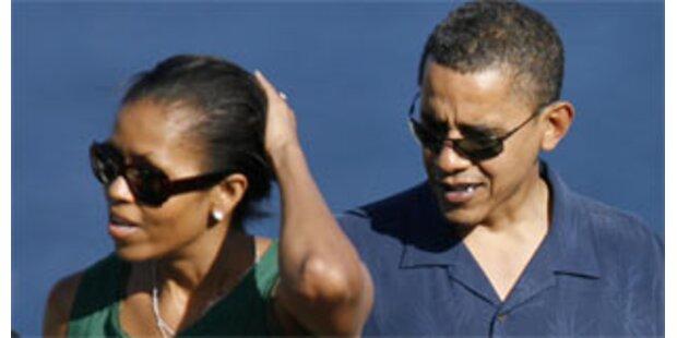 Obama besuchte Trauerfeier für seine Großmutter