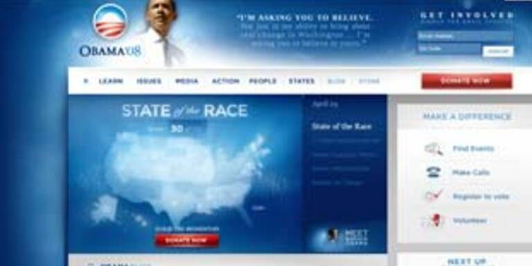 Hacker knacken Obama-Website