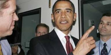 Obama hat sich im Weißen Haus verirrt
