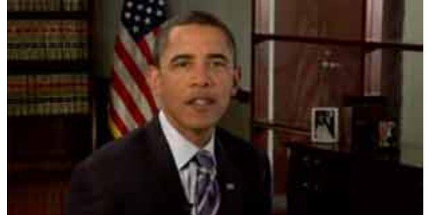 Obama ruft seine Anhänger zu weiterer Mithilfe auf