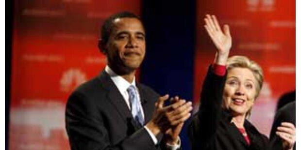 Clinton und Obama proben das Duett