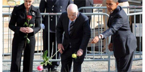 Obama und McCain gedachten Opfern von 9/11