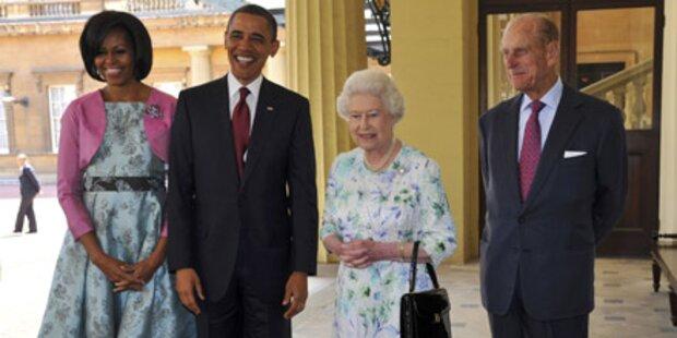 Queen empfing Obama im Buckingham Palast