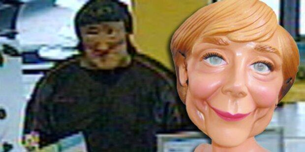 Obama-Räuber kam auch als Angela Merkel