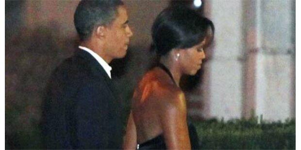 Obamas feiern 17. Hochzeitstag