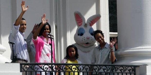 So feierten die Obamas Ostern