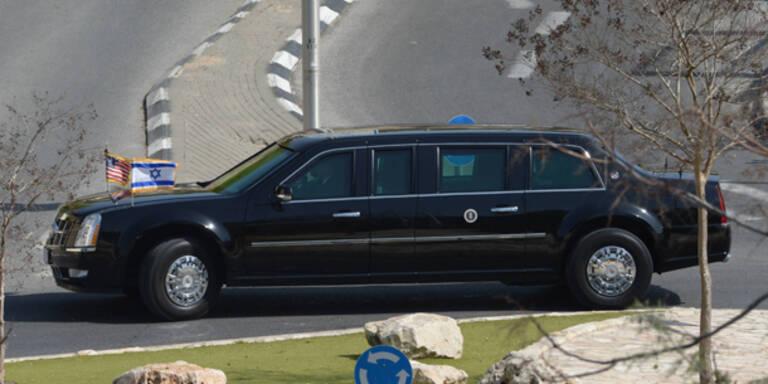 Obamas gepanzerte Limousine ging kaputt