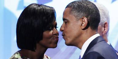 """Obama: """"Meine Frau hätte mich geschlagen"""""""
