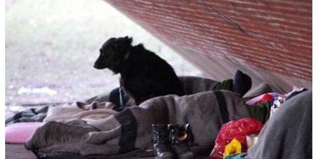 Teenager zünden Obdachlosen an