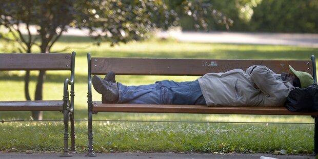 Für Obdachlose wird weiterhin gesorgt