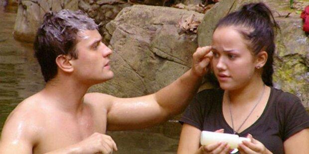 Rocco & Kim: Neues Dschungeltraumpaar?