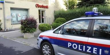 Täter nach Banküberfall in Linz flüchtig