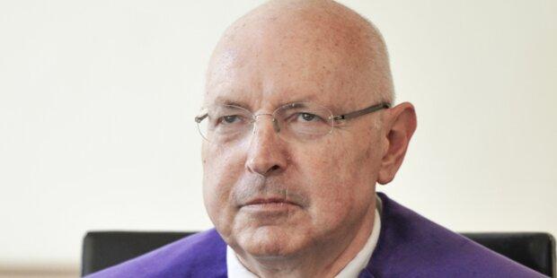 Verfassungsrichter Oberndorfer tritt zurück