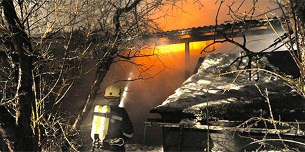 Polizei jagt Brandstifter