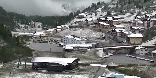 Herbstanfang 2014: Schnee, Frost, Minusgrade