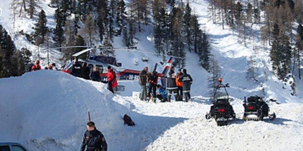 Skilehrer stirbt durch Schneebrett