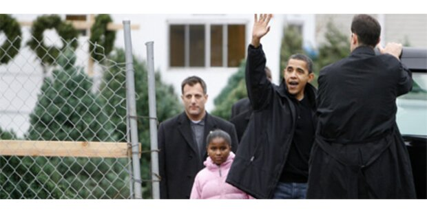 Obama goes Christmas!