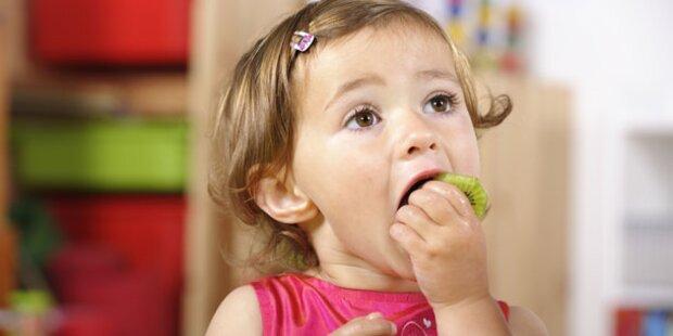 Nur jedes zweite Kind isst täglich Obst