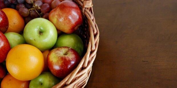 Rot, gelb, grün: Buntes Obst macht gesund