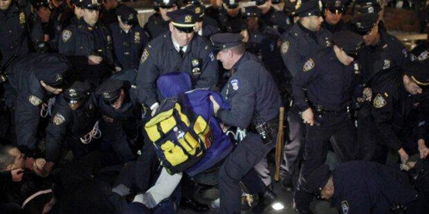 New York entschädigt Occupy-Bewegung