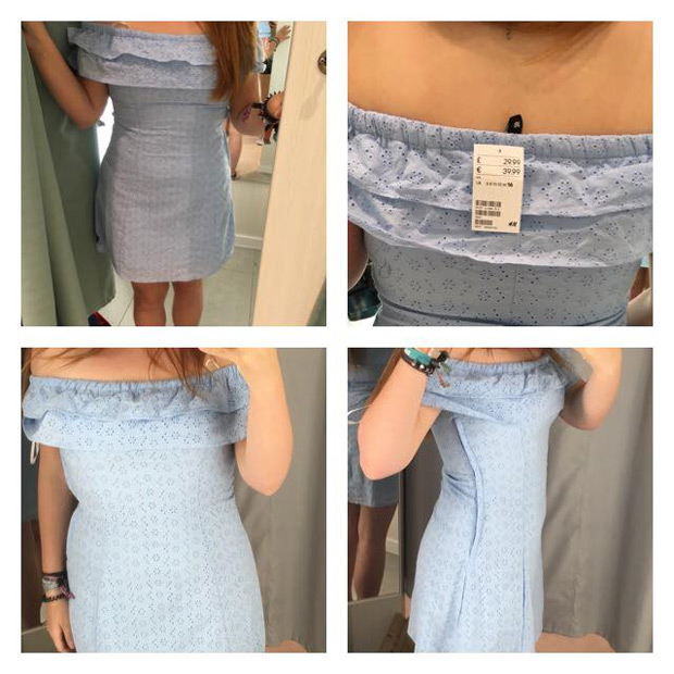 Wegen eines Selfies: Dieses Kleid bringt H&M in Erklärungsnot