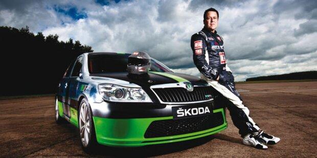 325,33 km/h - schnellster Skoda aller Zeiten