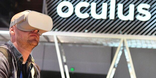 Oculus-Kauf: Blaues Auge für Facebook