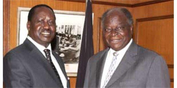 Oppositionschef Odinga zum Premier ernannt