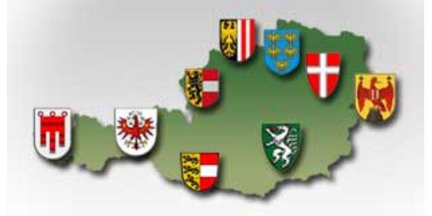 Wählen Sie das schönste Bundesland Österreichs