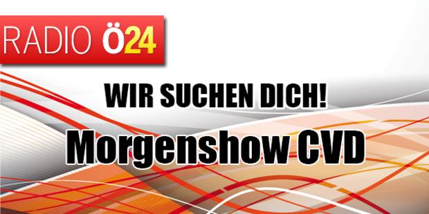 Radio Ö24 sucht eine/n Morgenshow CVD