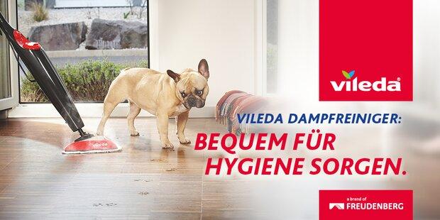 Anzeige Vileda