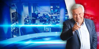oesterreich Nachrichten-TV-Sender oe24.TV mit wolfgang fellner
