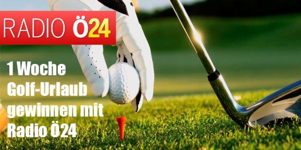 1 Woche Golf-Urlaub gewinnen mit Radio ö24