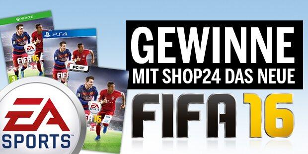 Gewinnspiel FIFA16