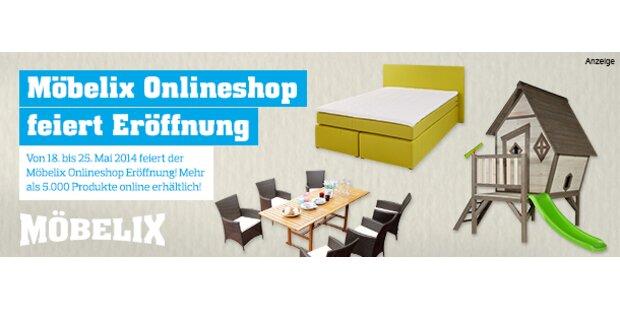 Möbelix Onlineshop feiert Eröffnung