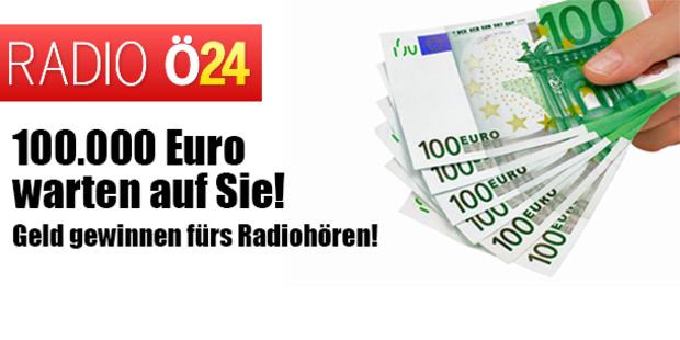 Geld gewinnen fürs Radiohören!