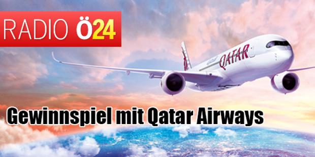 Abheben mit Radio Ö24 und Qatar Airways
