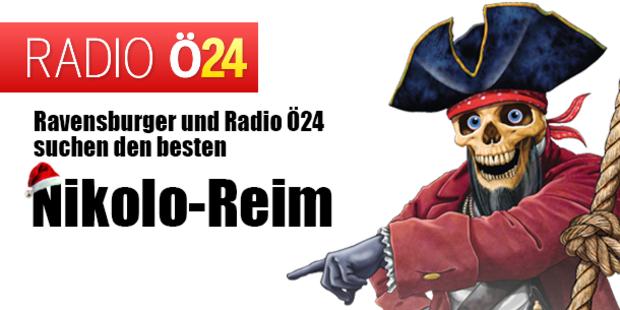 Ravensburger und Radio Ö24 suchen den besten Nikolo-Reim