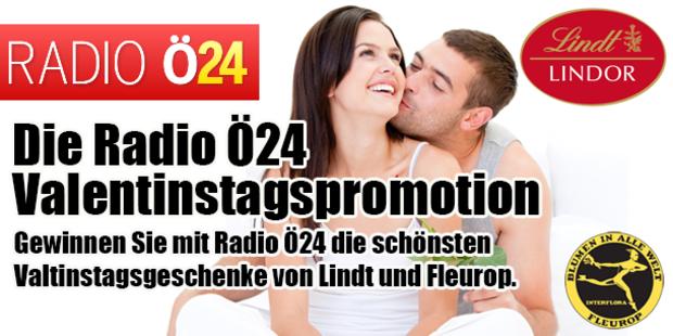 Die Radio Ö24 Valentinstagspromotion