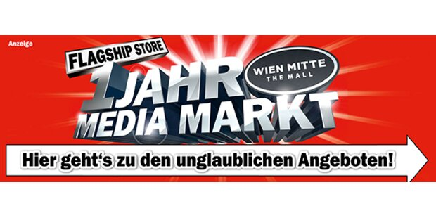 1 Jahr Mediamarkt Wien Mitte