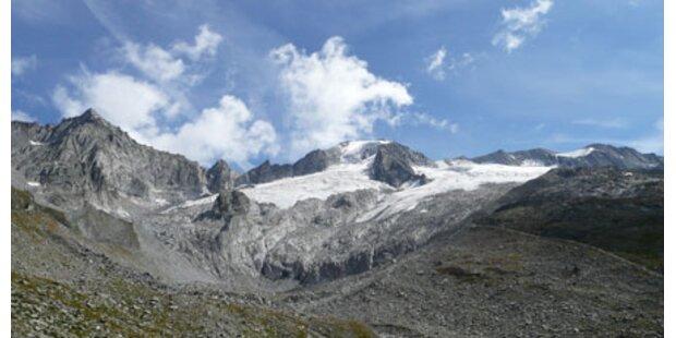 Gletscher schrumpfen weg