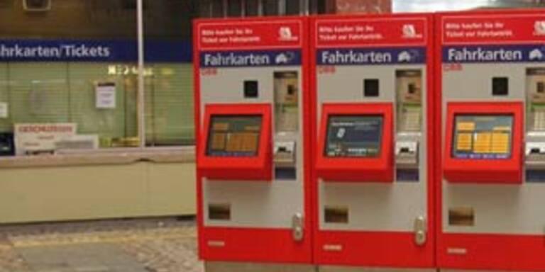 Bande knackte 215 ÖBB-Automaten