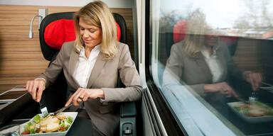 ÖBB stellten Imbiss-Trolley-Service ein